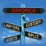 filing for divorce child custody