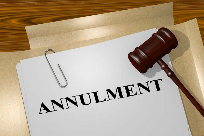 Annulment of Marriage
