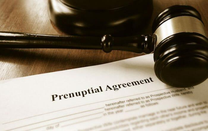 prenuptial agreement attorney
